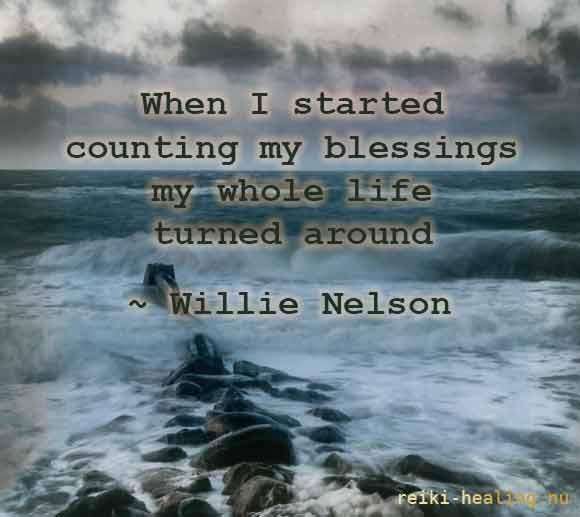 Willie Nelson citat om taknemmelighed