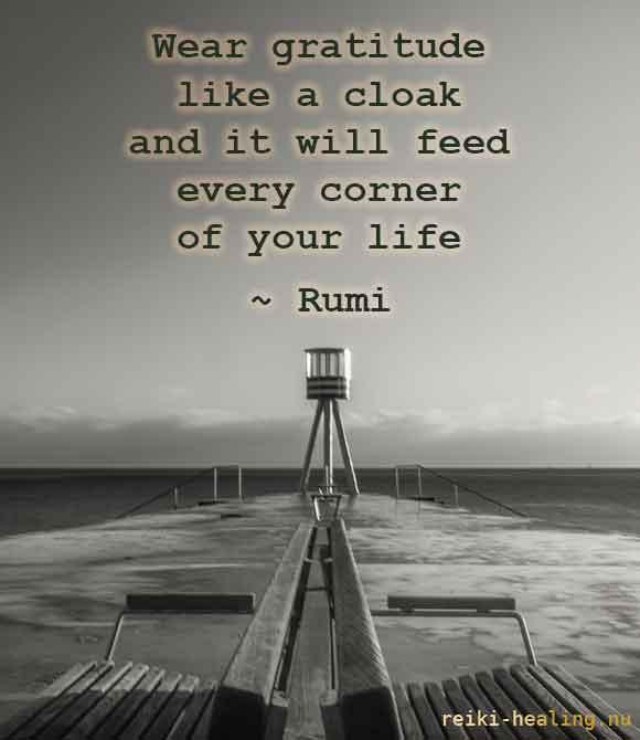 Rumi om taknemmelighed